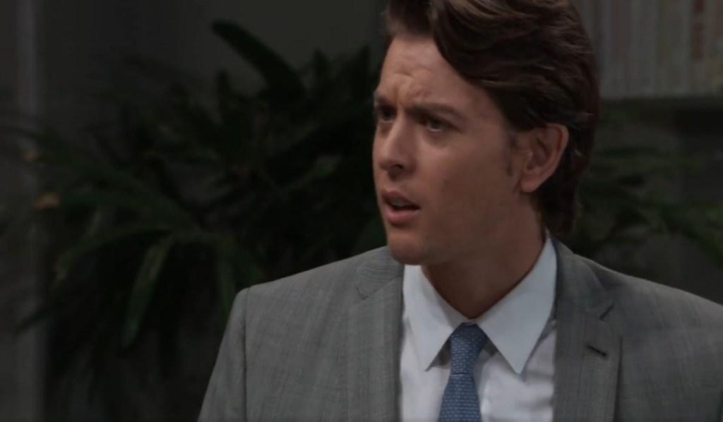 Michael demands answes at ELQ General Hospital