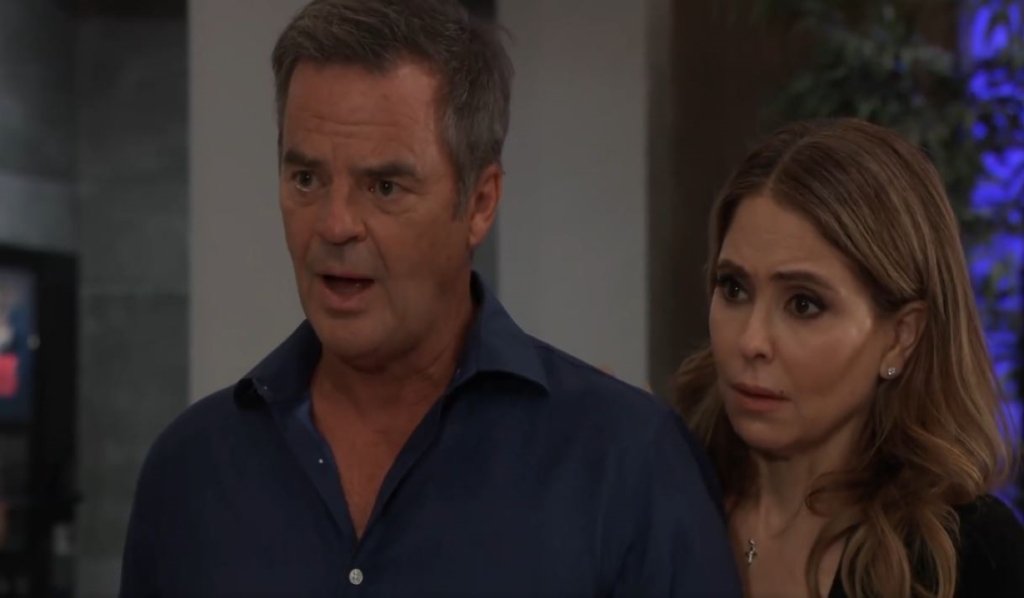 Ned and Olivia ask after Brook Lynn at General Hospital