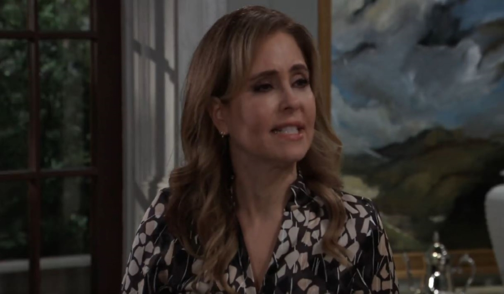 Olivia accuses Ned of being insensitive at Quartermaine estate General Hospital