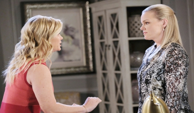 Sami rants at Belle at Marlena's Days of our Lives