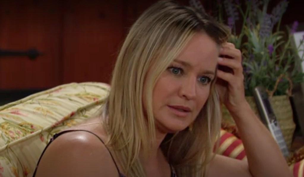 Sharon worried Y&R