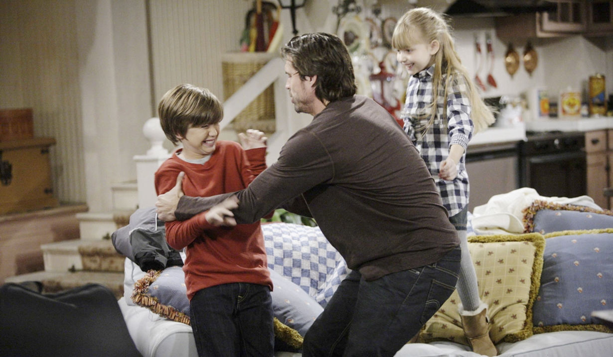 Summer, Kyle, Nick kids Y&R