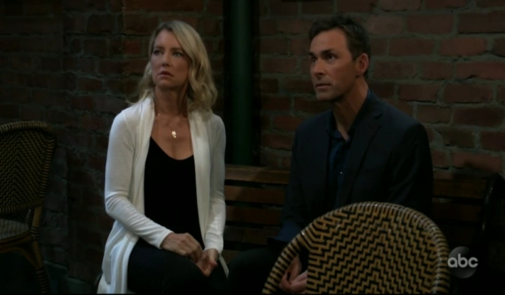 Nina and Valentin are interrupted by Sam at Kelly's General Hospital