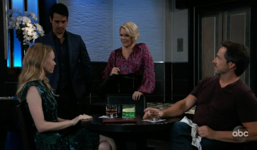 Ava confronts Nelle and Julian on GH