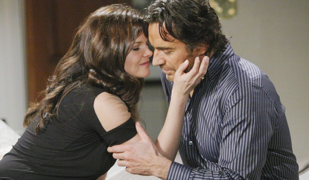 "Thorsten Kaye, Heather Tom ""The Bold and the Beautiful"" katie ridge ss"