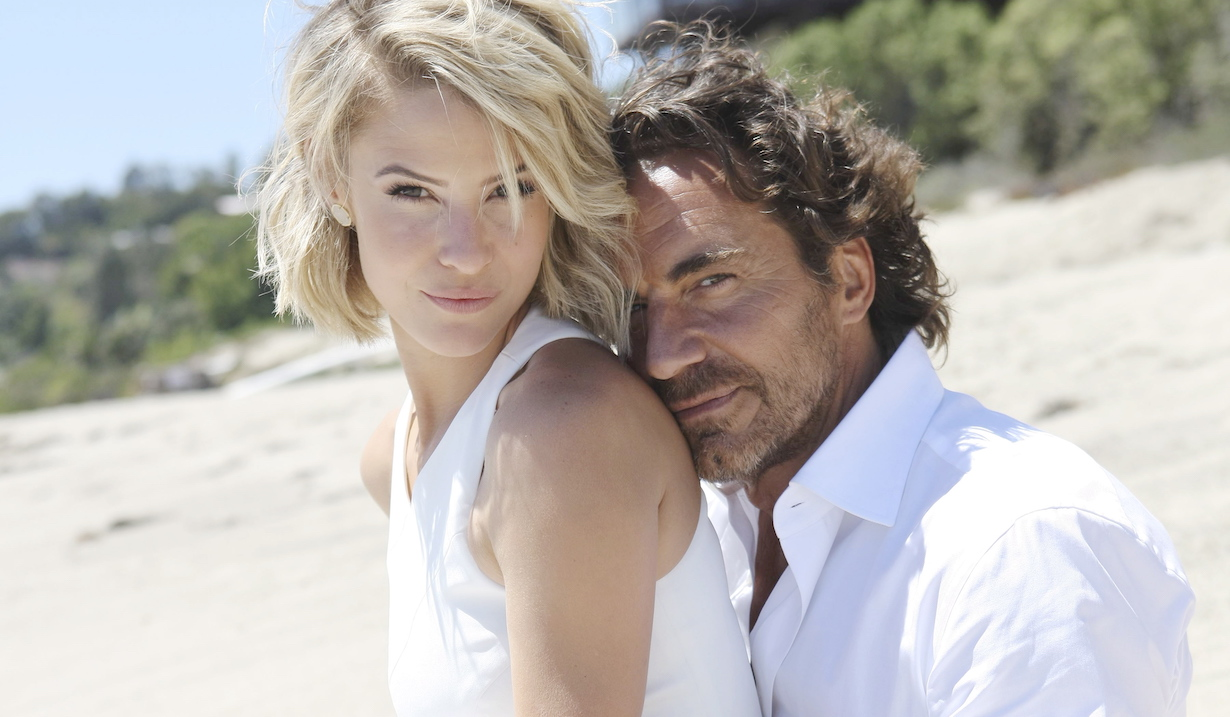 "Linsey Godfrey, Thorsten Kaye ""The Bold and the Beautiful"" ss"