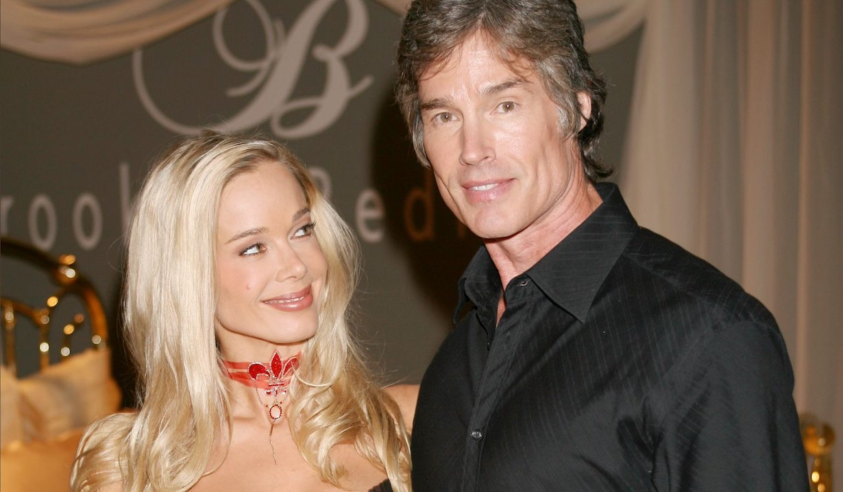 "Ronn Moss, Jennifer Gareis ""The Bold and the Beautiful"" ridge donna am"