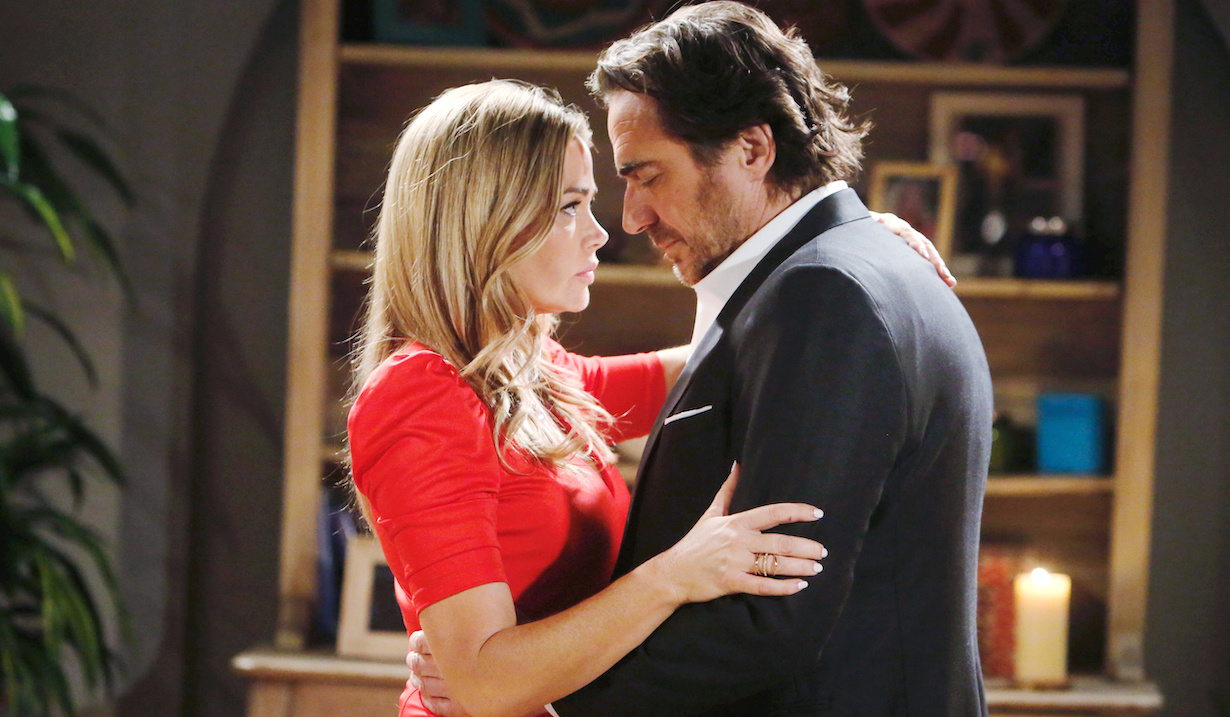 "Thorsten Kaye, Denise Richards ""The Bold and the Beautiful"" shauna ridge hw"