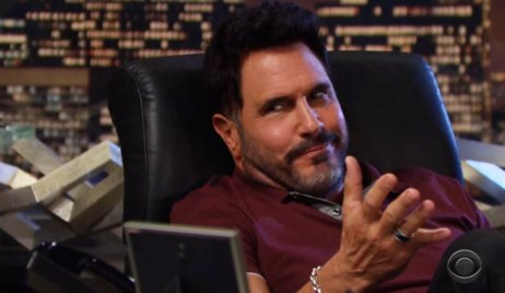 bill argues with quinn about ridge and brooke B&B