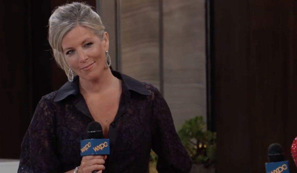 Carly hosts the red carpet on GH
