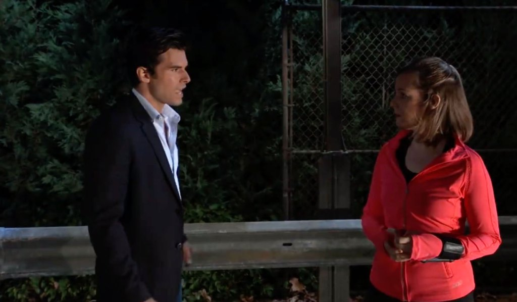 Chase questions a witness on GH