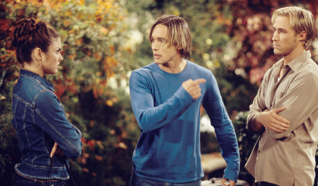 Philip, Chloe and Brady triangle on Days