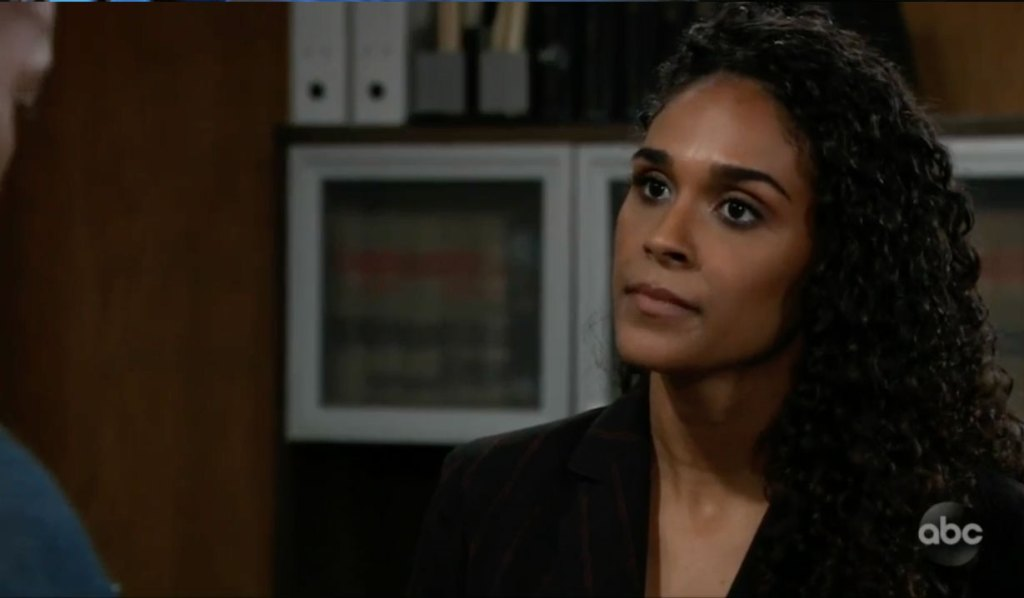 Curtis confronts Jordan about Cyrus on GH