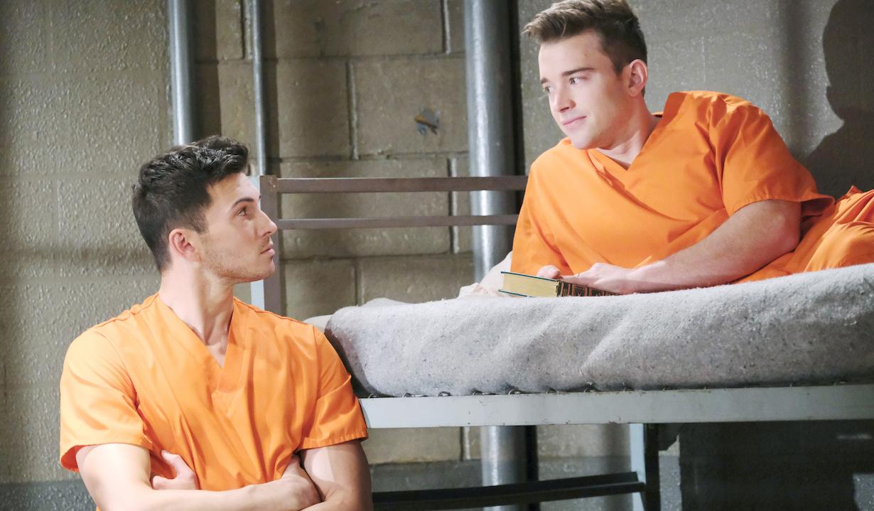 "Robert Scott Wilson, Chandler Massey ""Days of our Lives"" will ben prison xj"