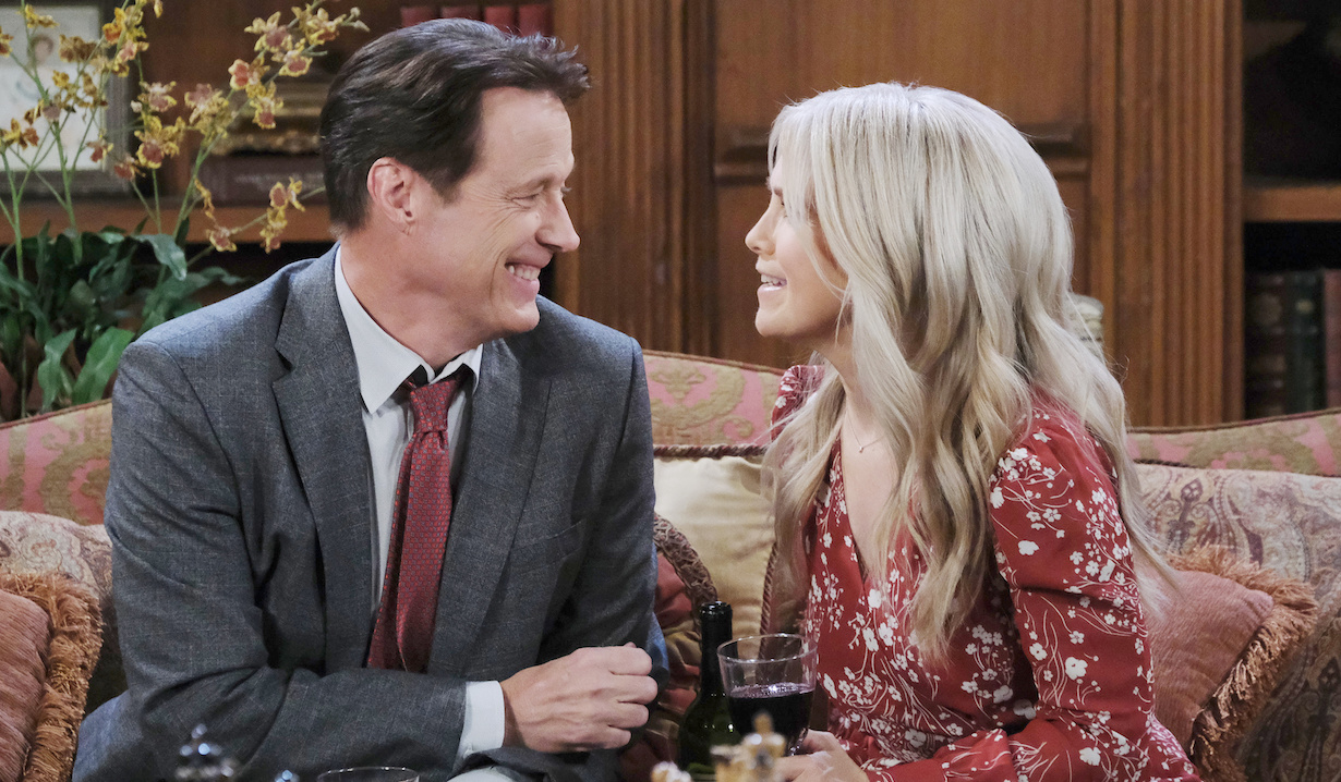 "Melissa Reeves, Matthew Ashford ""Days of our Lives"" xj"