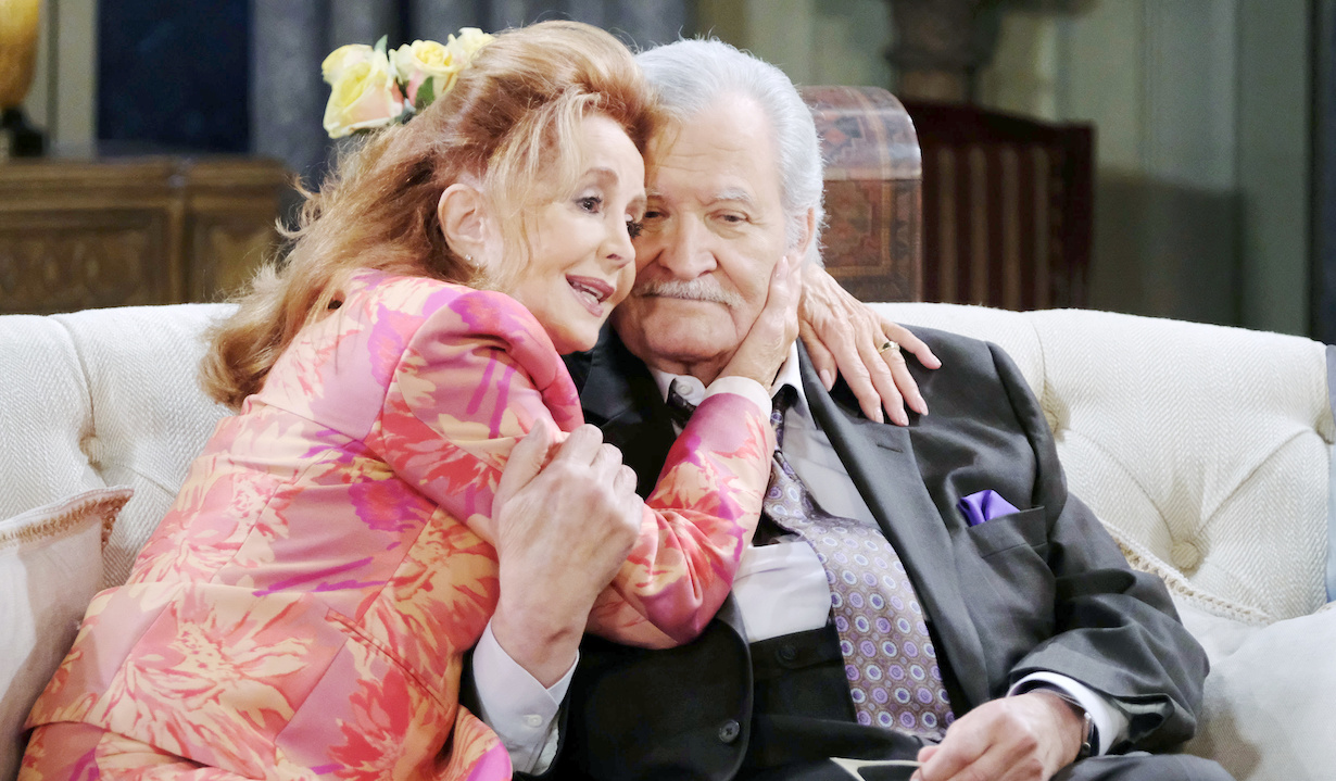 "Suzanne Rogers, John Aniston ""Days of our Lives"" xj"