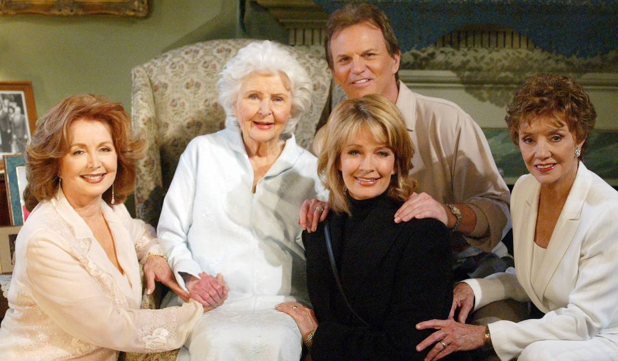 """Deidre Hall, Francis Reid, Suzanne Rogers, Josh Taylor and Peggy McCay """"Days of our Lives"""" melaswen ps"""