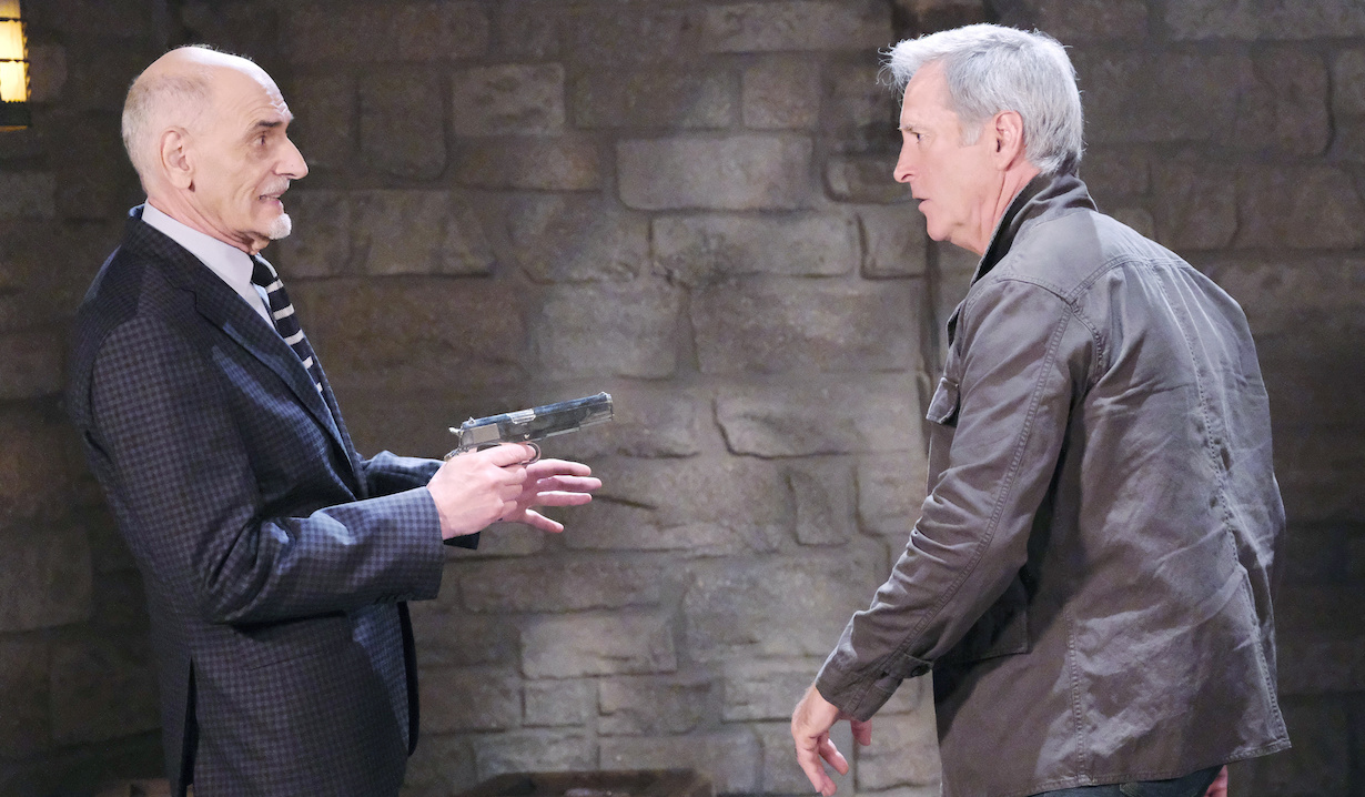 "Will Utay, Drake Hogestyn ""Days of our Lives"" rolf john gun"