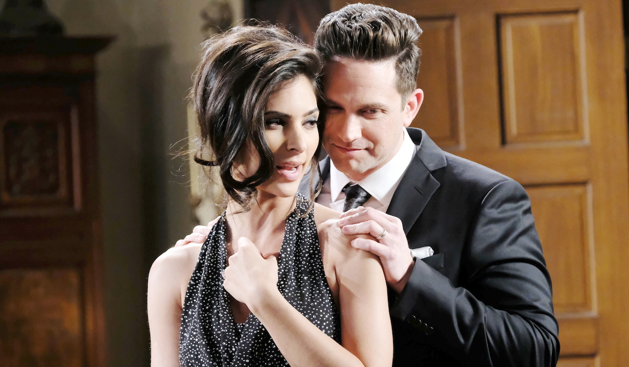 "Brandon Barash, Camila Banus ""Days of our Lives"" xj"