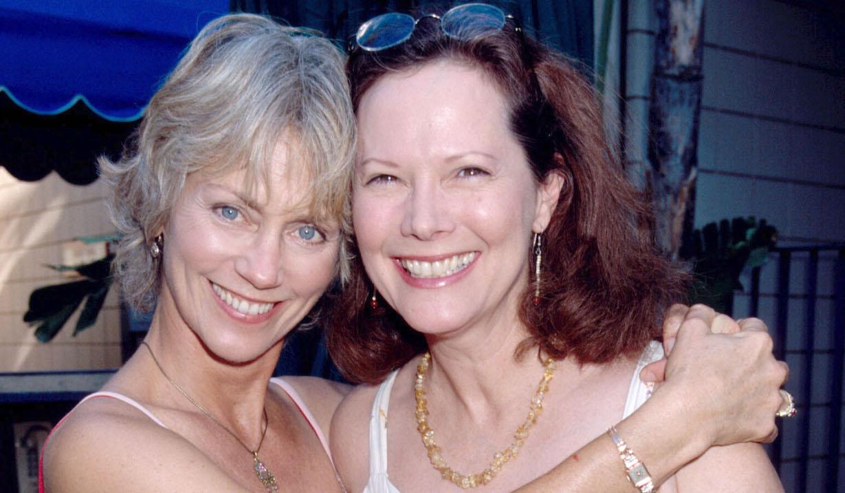 Terry Davis and Sharon Gabet Edge of Night lisa rose
