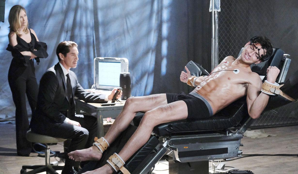 Ben gets shock treatment on Days