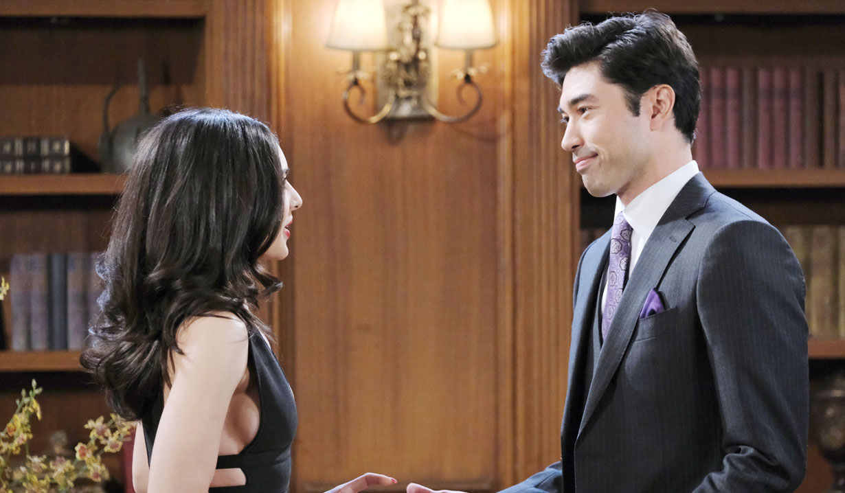 Gabi and Li meet on Days of our Lives