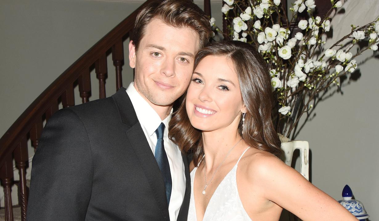 "Katelyn MacMullen, Chad Duell ""General Hospital"" wedding michael willow hw"