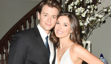 "Katelyn MacMullen, Chad Duell ""General Hospital"" wedding michael willow hw"