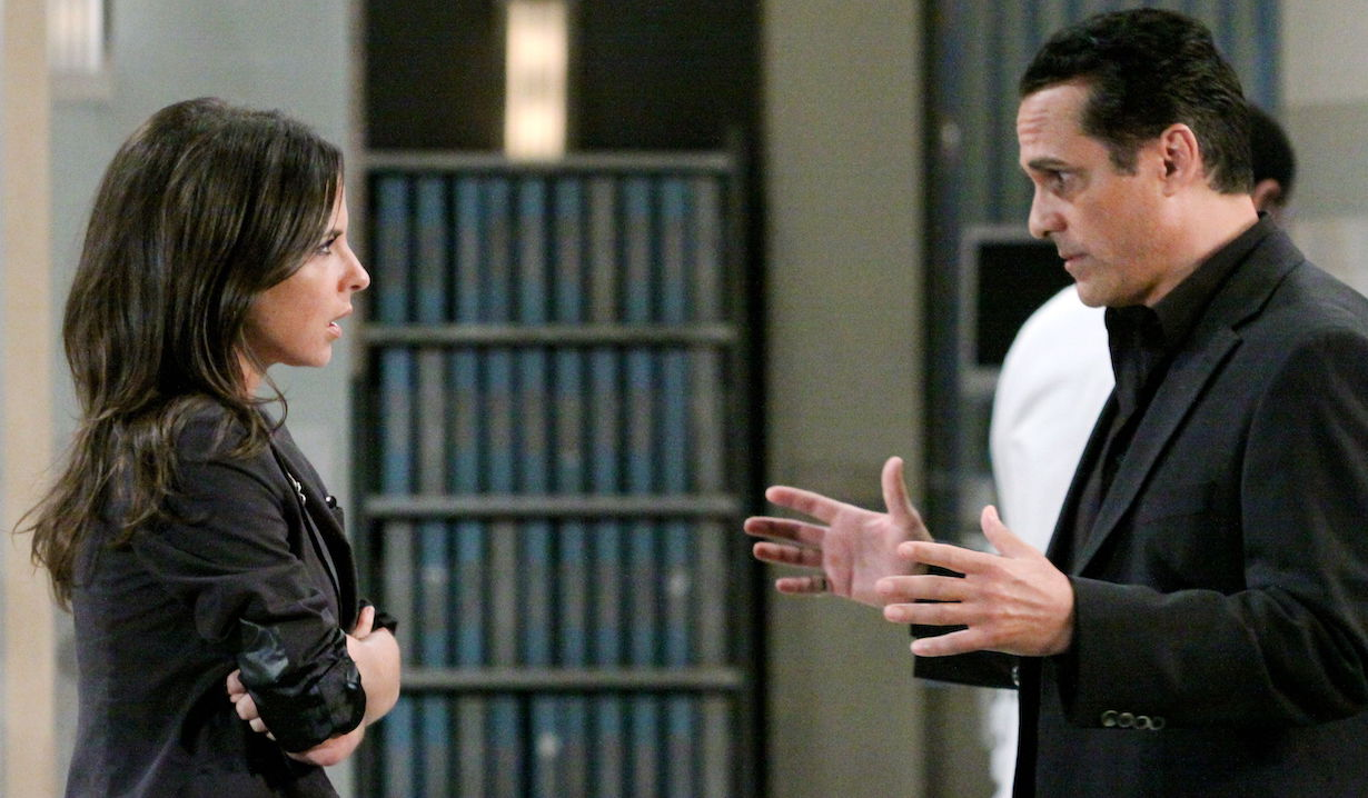 "Maurice Benard, Kelly Monaco ""General Hospital"" skipper"