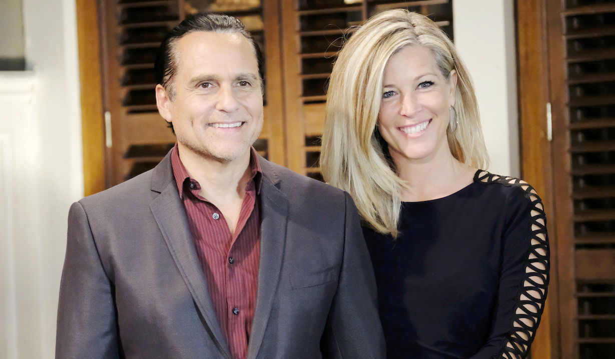"Maurice Benard, Laura Wright ""General Hospital"" sonny carly chris d"