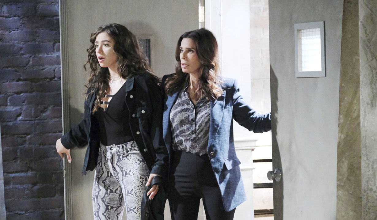 Hope and Ciara are shocked on Days of our Lives