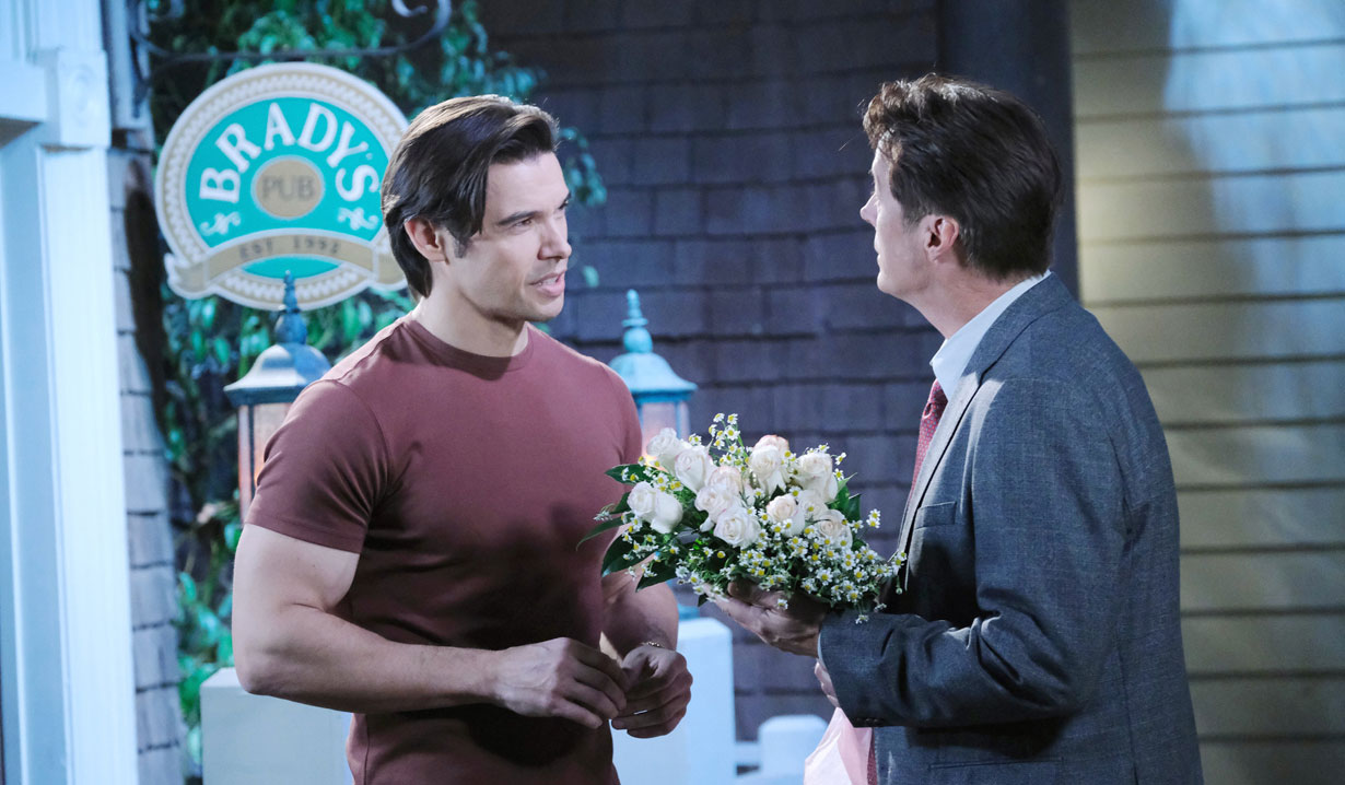 Xander asks Jack for advice on Days of our Lives