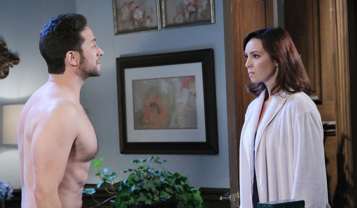 Jake confronts Gwen on Days of our Lives