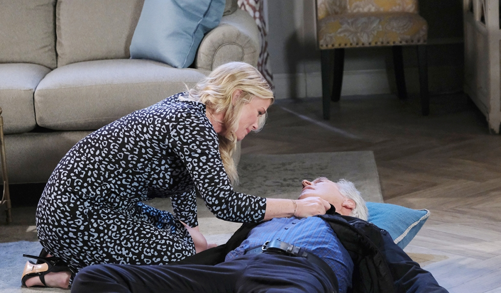 john collapses days of our lives