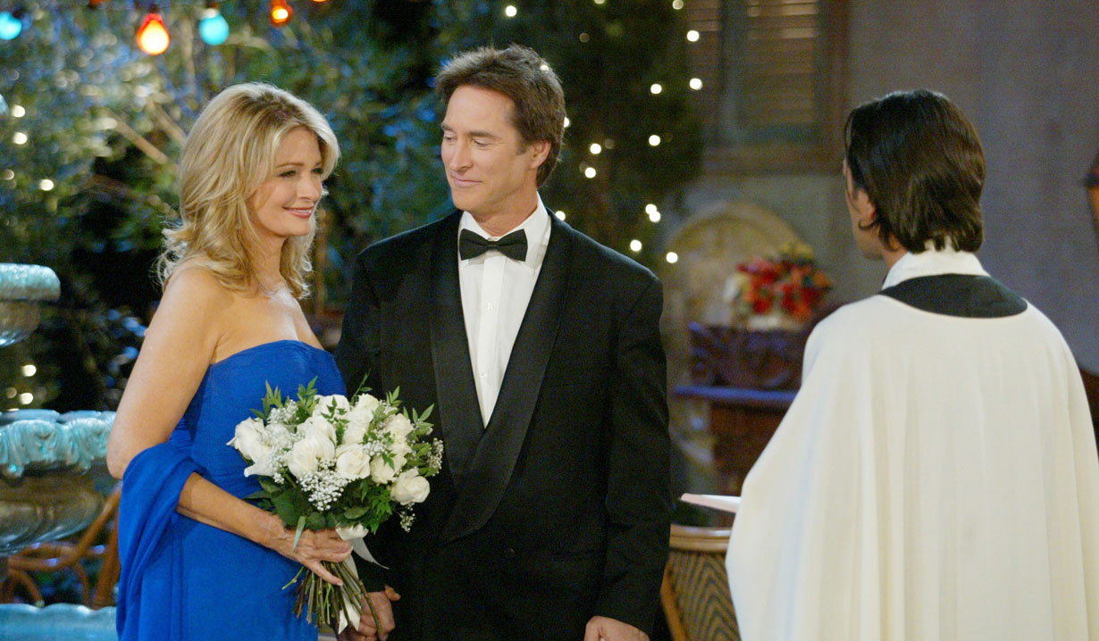 John and Marlena renew wedding vows December 7, 2006 Italy DAYS