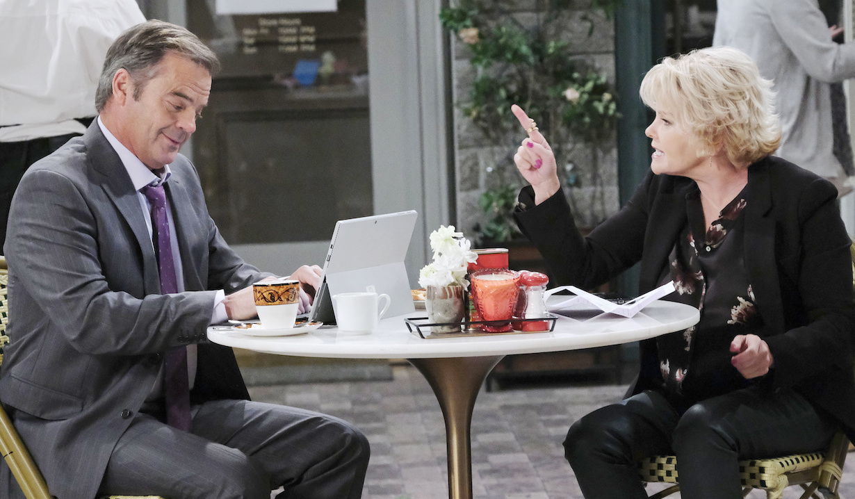 Bonnie Lockhart asks Justin Kiriakis to be her lawyer