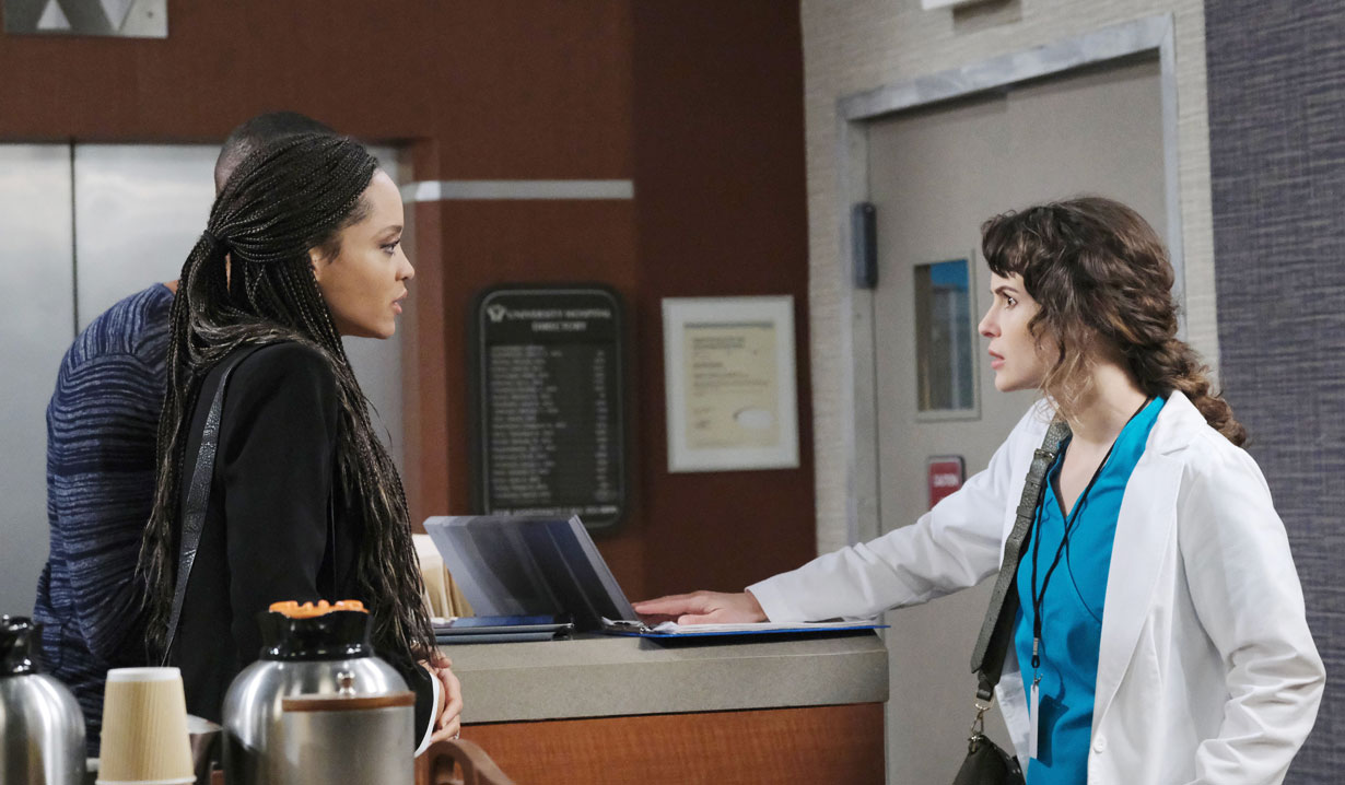 Lani and Eli go to the hospital on Days of our Lives