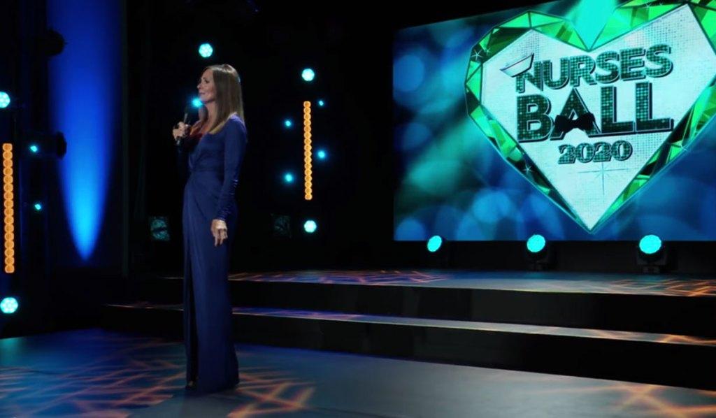 Lucy hosts the Nurses Ball 2020 on GH