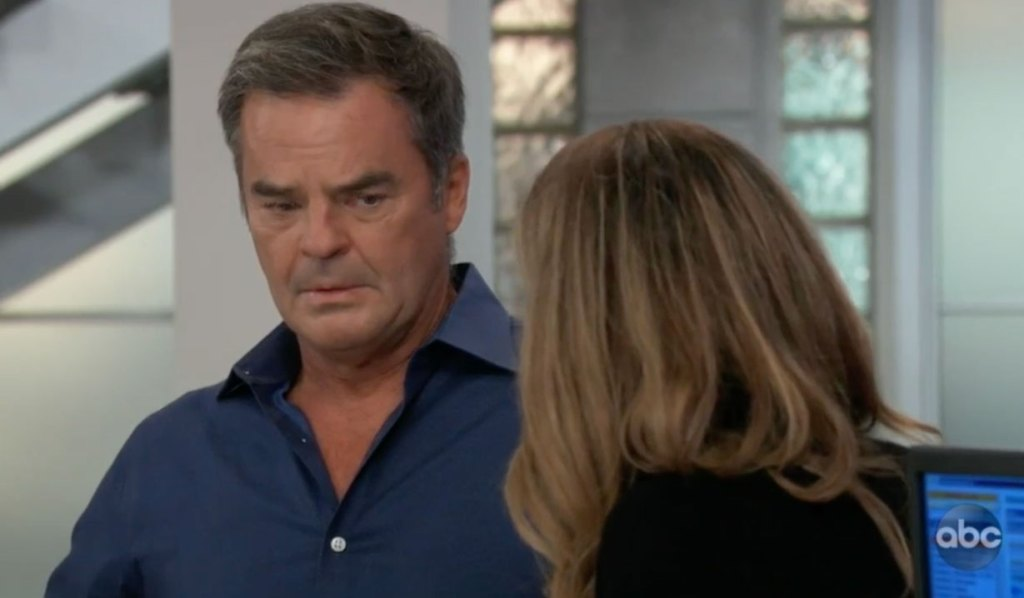 Ned waits for news on Brook Lynn on GH