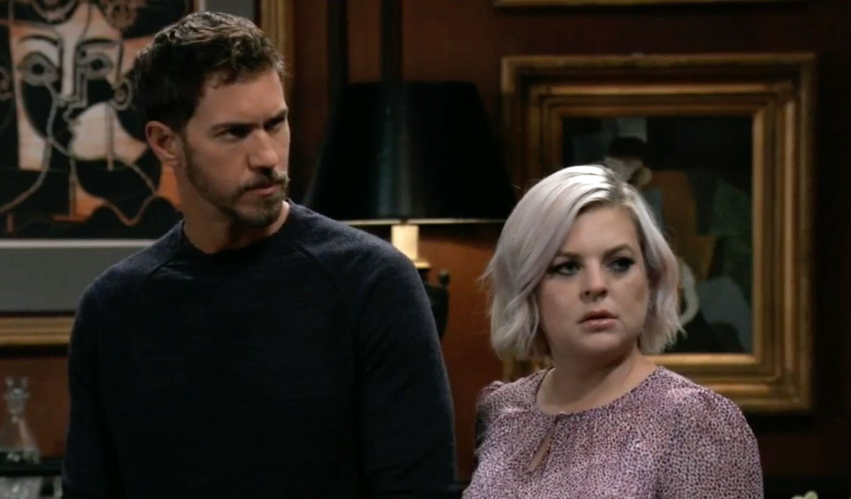 Maxie and Peter attend Ava's party on GH