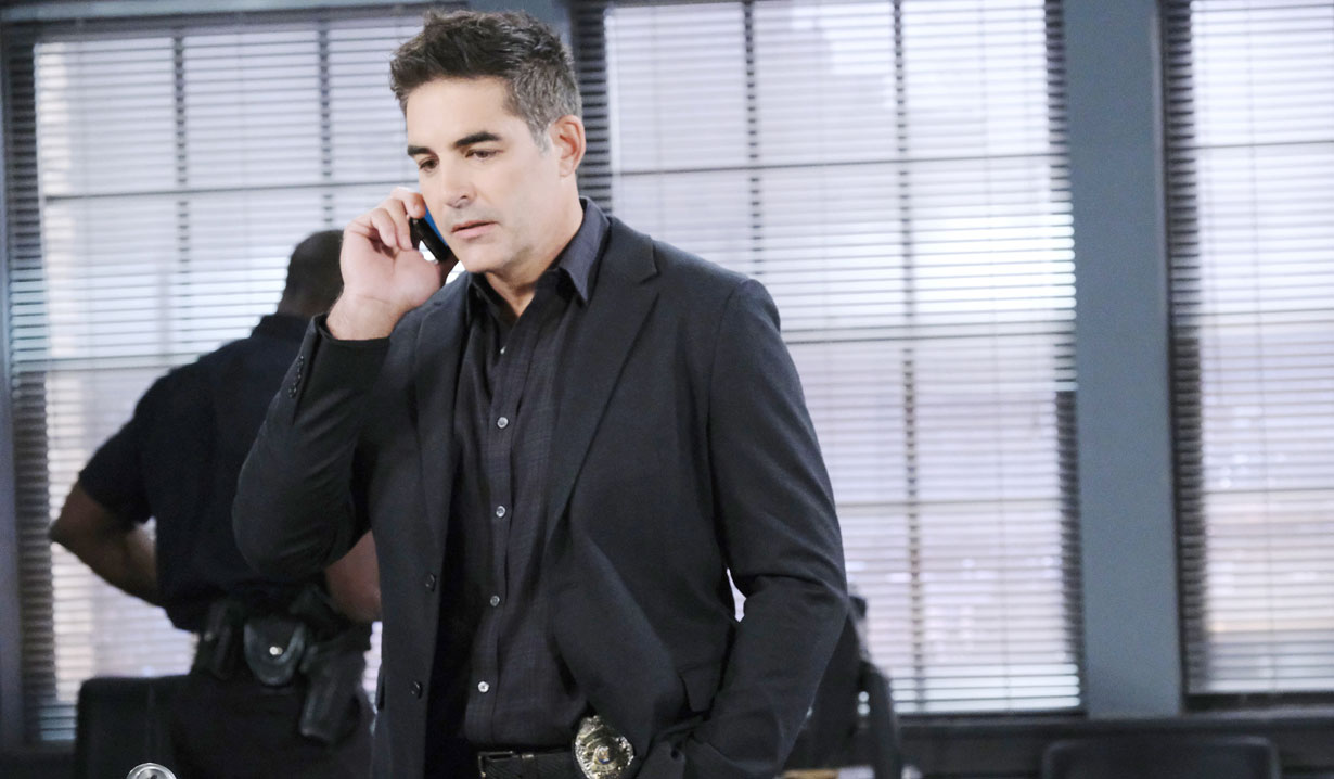 Rafe receives a call on Days of our Lives