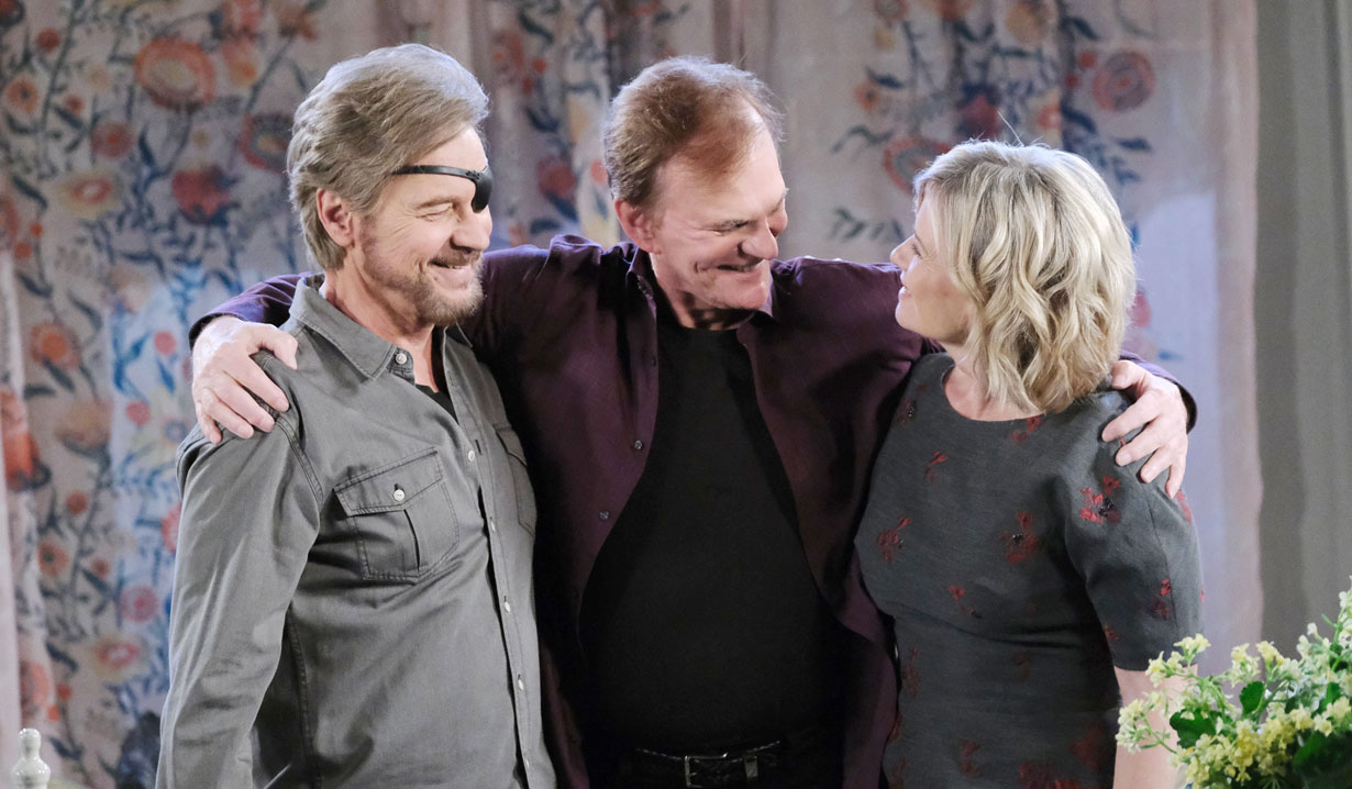 Roman crashes Steve and Kayla's reunion on Days of our Lives