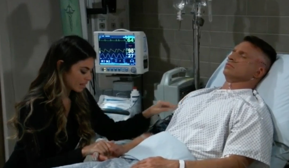 Sam sits with Jason on GH