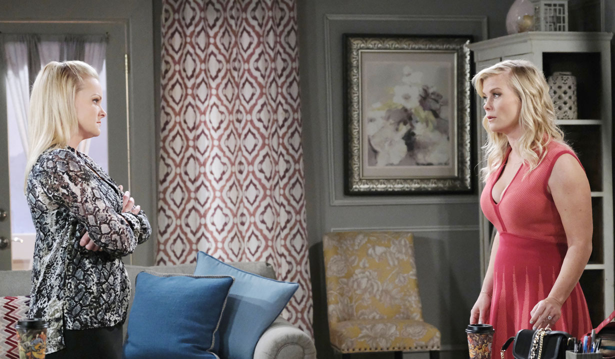Sami meets with Belle on Days of our Lives