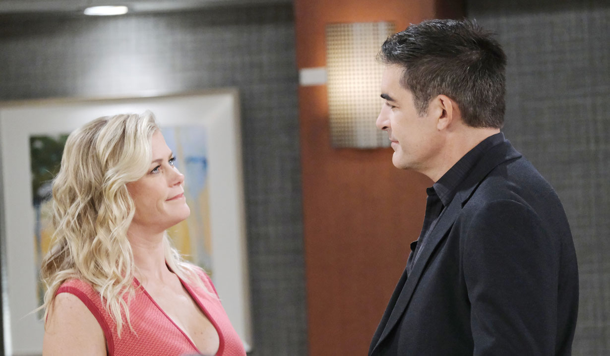 Rafe confronts Sami at the hospital on Days of our Lives
