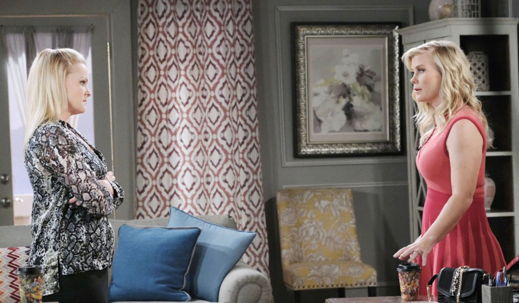 sami vents for anger to belle about nicole DAYS