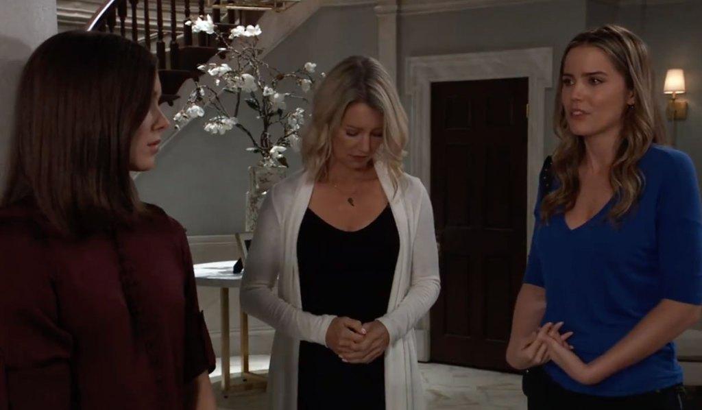 Sasha apologizes to Willow on GH