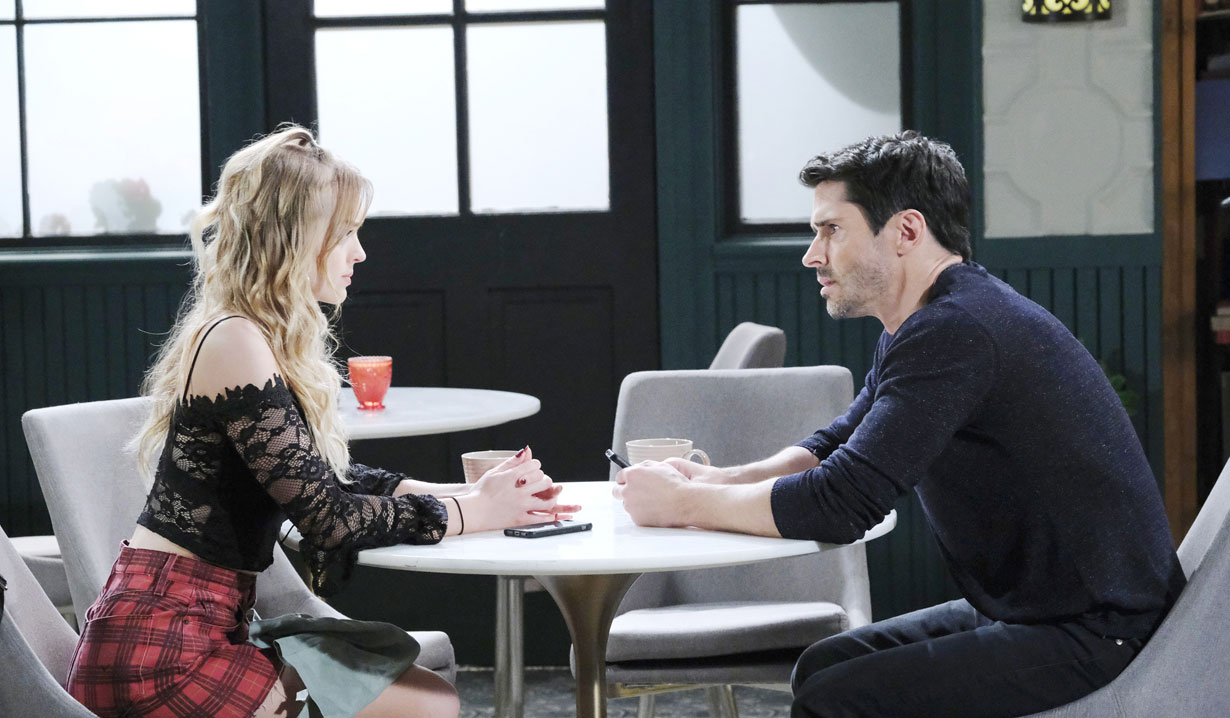 Shawn and Claire in New York on Days of our Lives