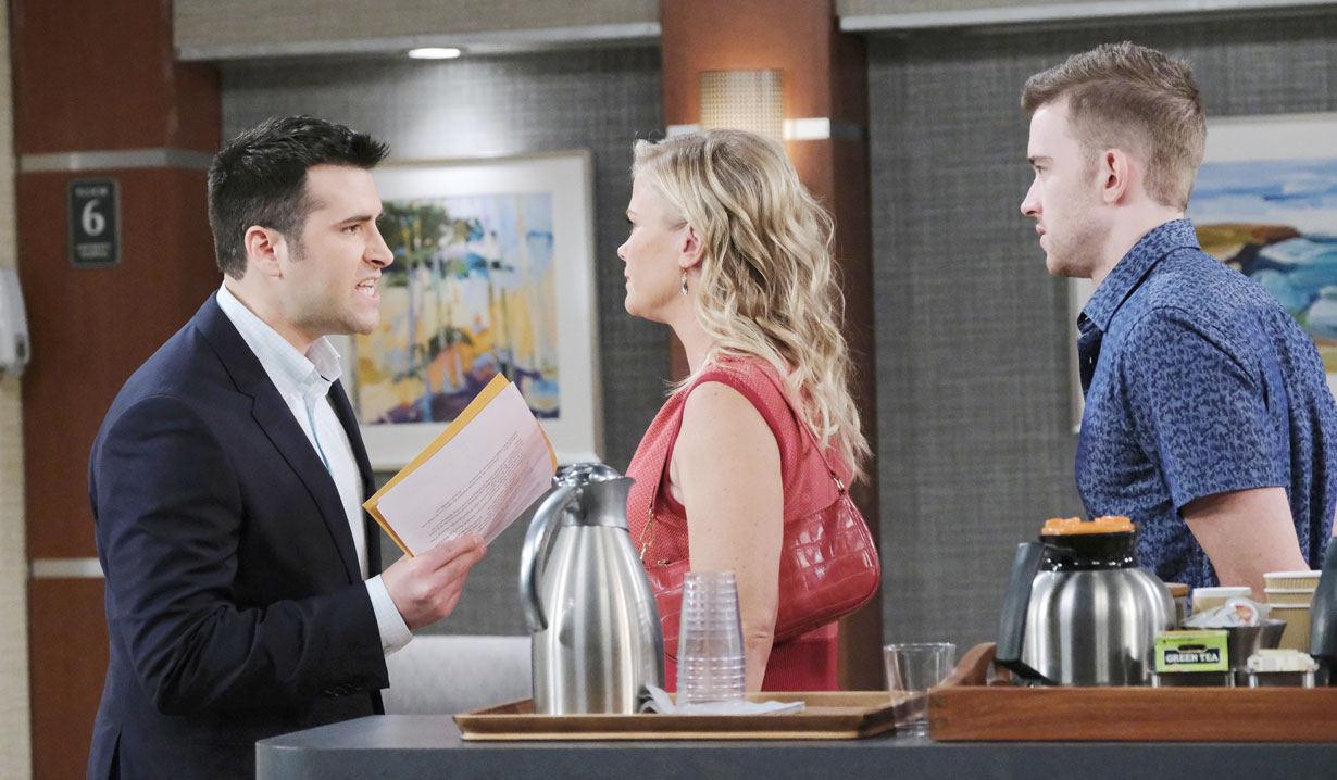 Sonny lashes out at Sami on Days of our Lives