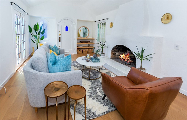 michelle stafford living room